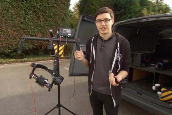 DJI Ronin Setup for the Sony F5